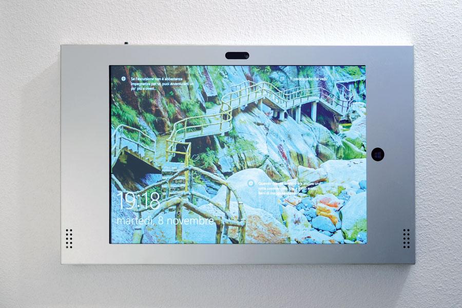 Tablet per controllo casa