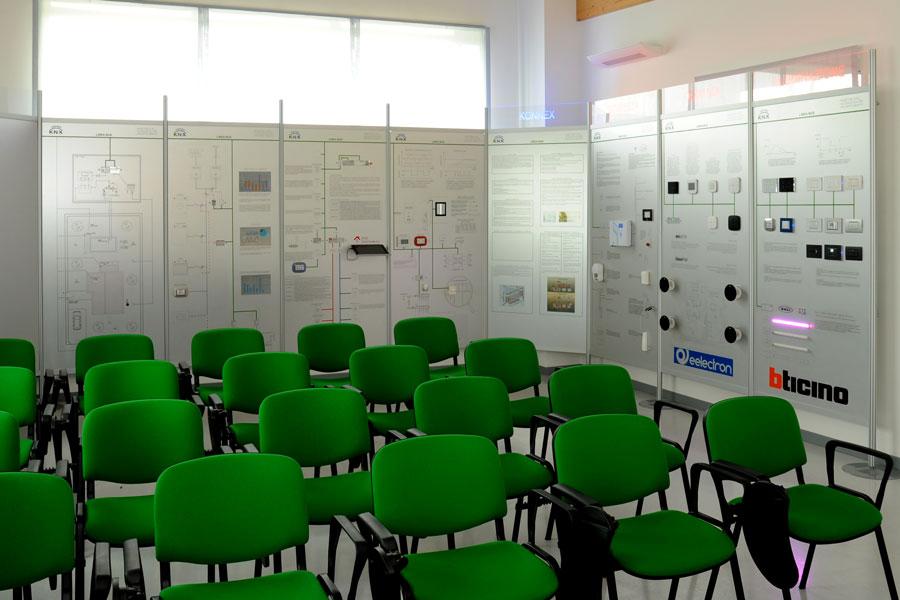 Veduta della sala riunioni